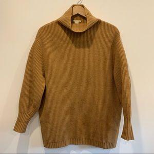H&M Rib-knit sweater Wool Cashmere Mock turtleneck